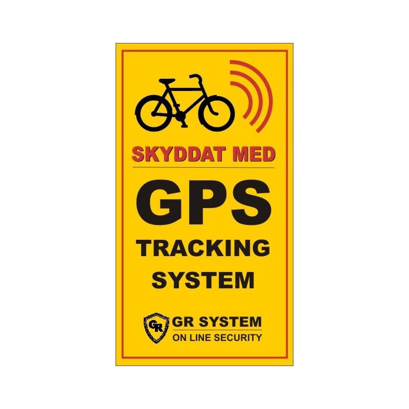 GPS DEKAL 2-pack (Lura tjuven)