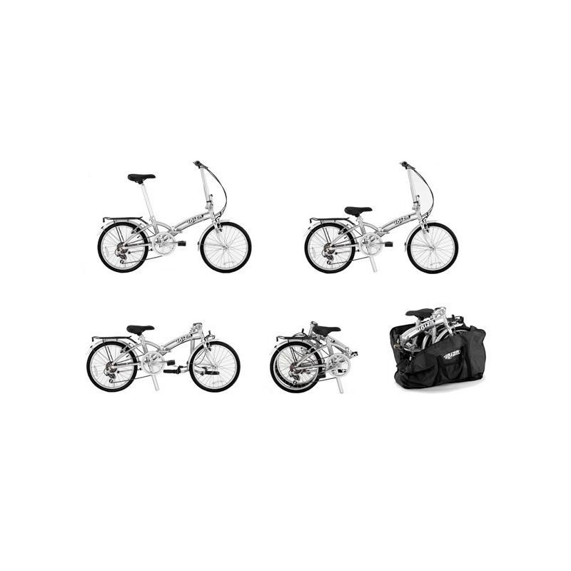 Kanon Ecoman Hopfällbar cykel 20 tum - Cykelstaden.se WB-86