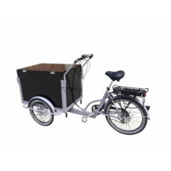 Lådcykel Classic Box Electric